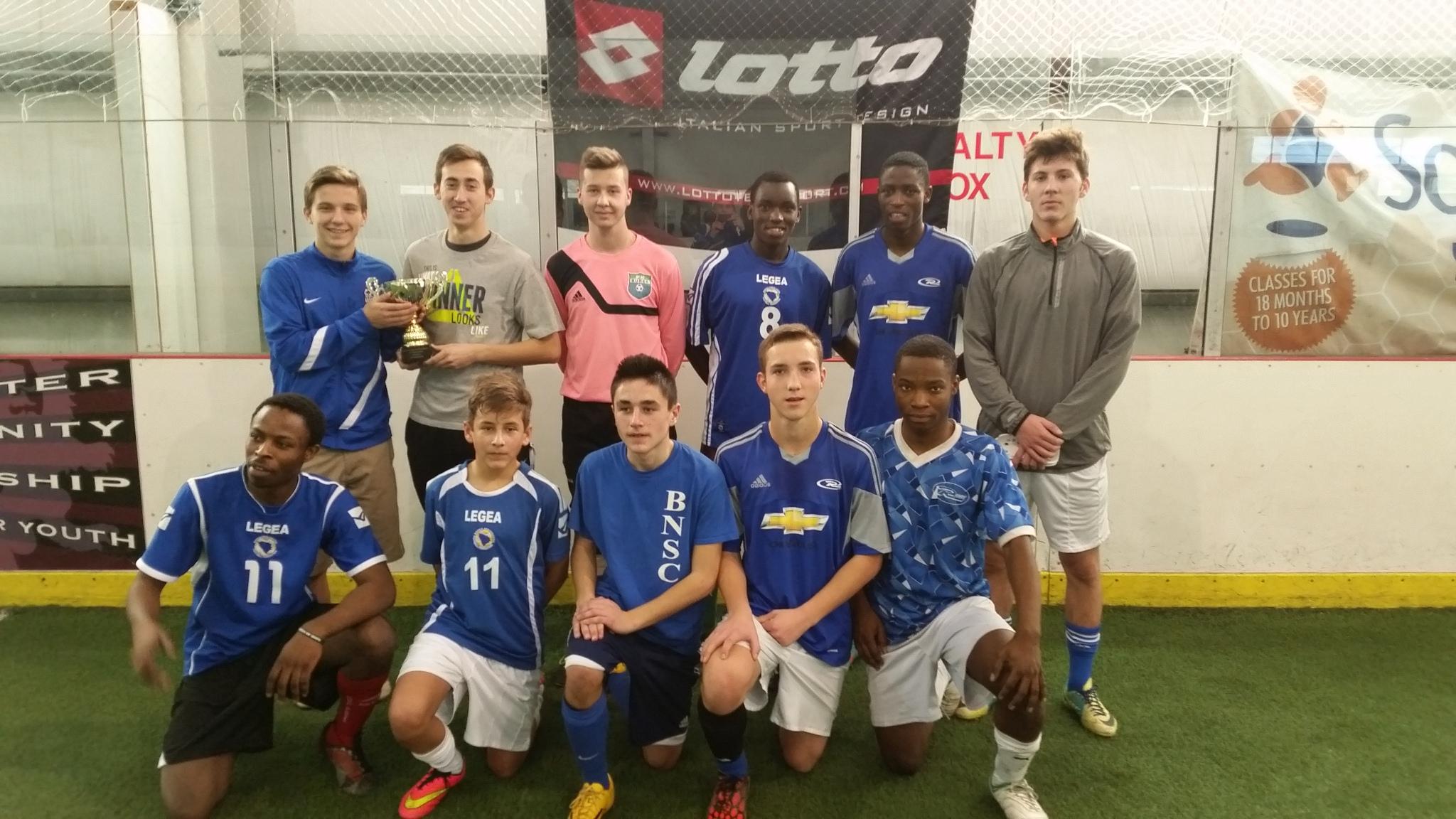 Blue Balls Of Destiny Hs Boys 2014 Iisa Indoor Soccer Champions