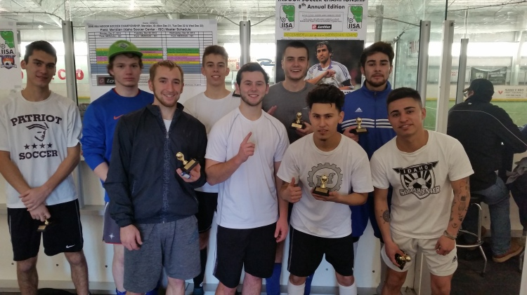 Borussia Boise - Men's College Bracket Champions