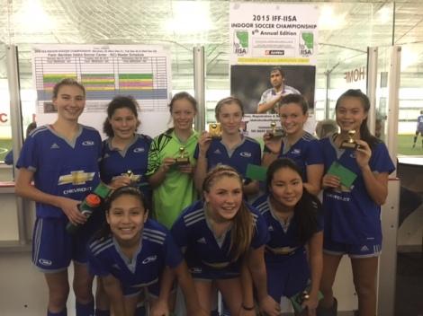 #RUID - U15 Girls Champions